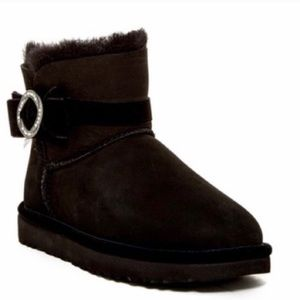 Brand new authentic Black UGG booties